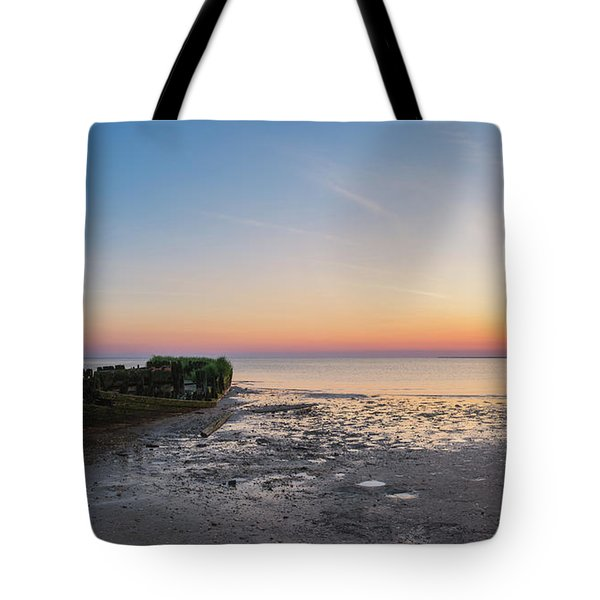 Shipwreck Panorama  Tote Bag