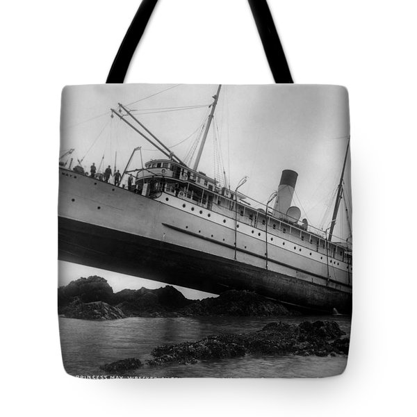 Shipwreck - Ss Princess May - August 5, 1910 Tote Bag