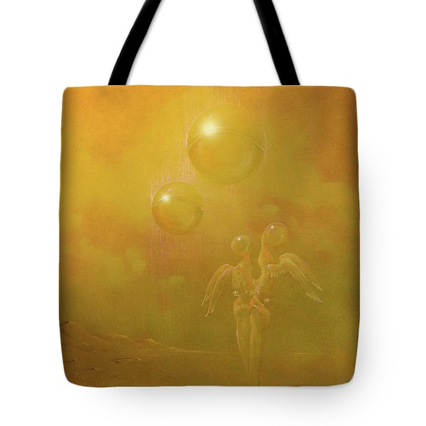 Shipwrecked Lovers Tote Bag
