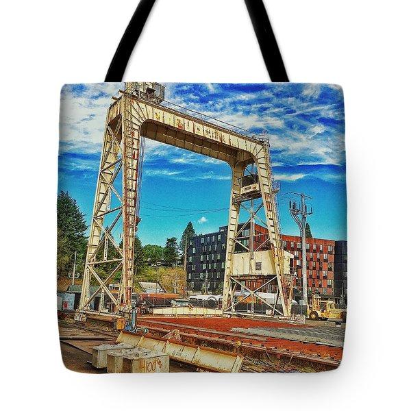 Shipyard Lunch Break Tote Bag