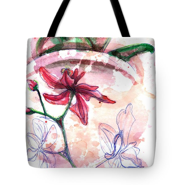 Shiraz Orchid II Tote Bag