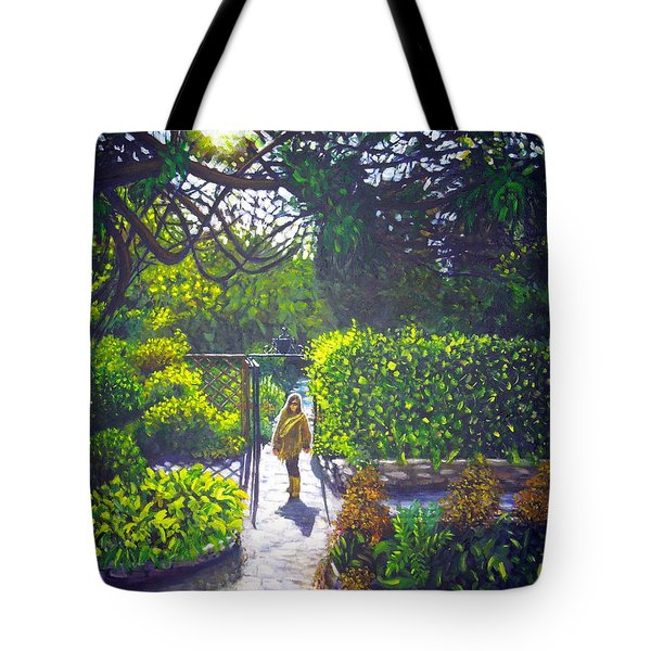 Shirley At Chalice Well Tote Bag
