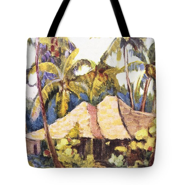 Shirley Russell Art Tote Bag by Hawaiian Legacy Archive - Printscapes