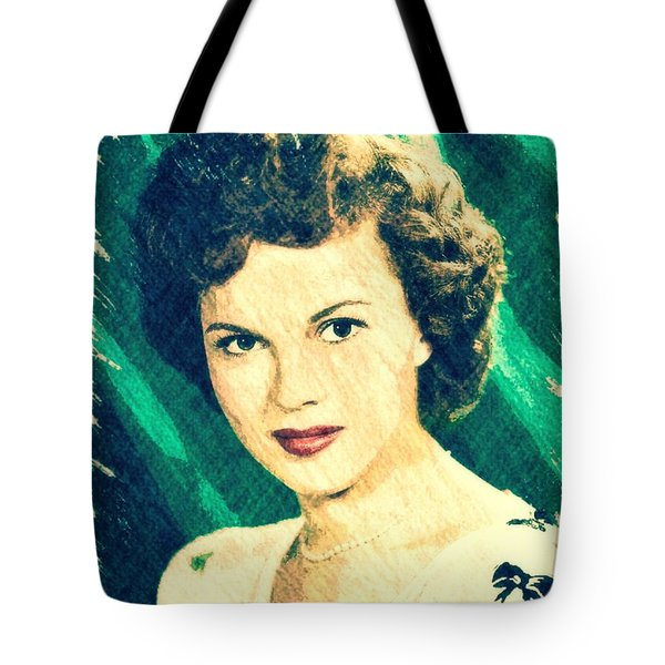 Shirley Temple By John Springfield Tote Bag by John Springfield