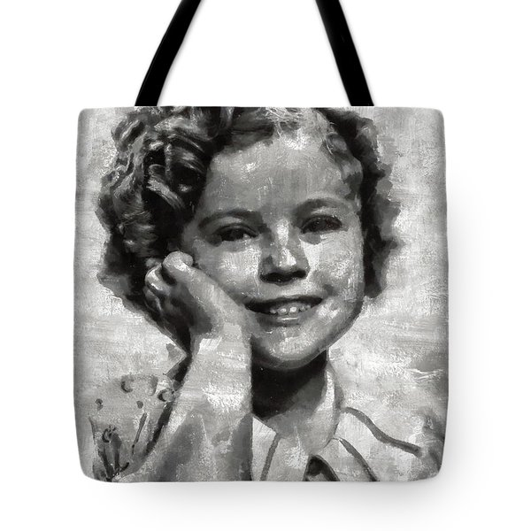Shirley Temple By Mary Bassett Tote Bag