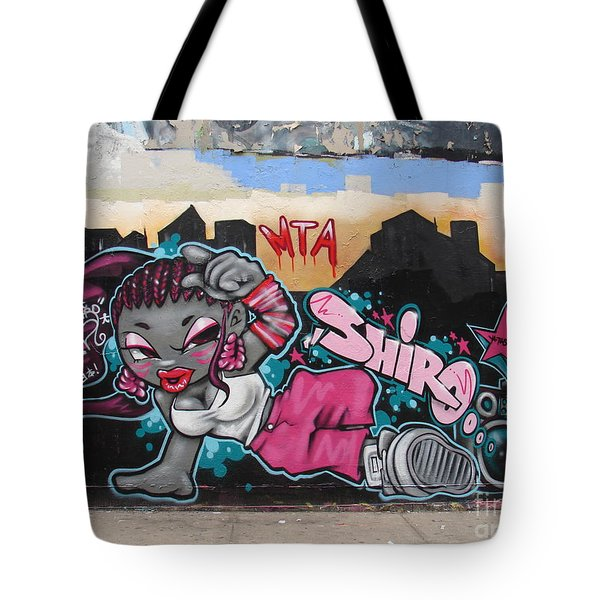 Shiro Tote Bag by Cole Thompson