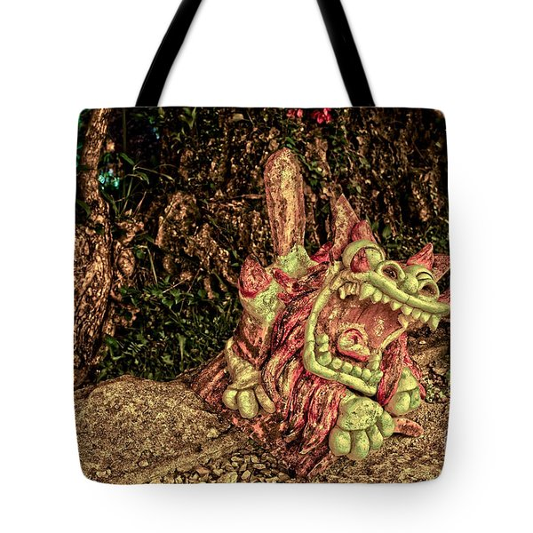 Shishi Dog Tote Bag