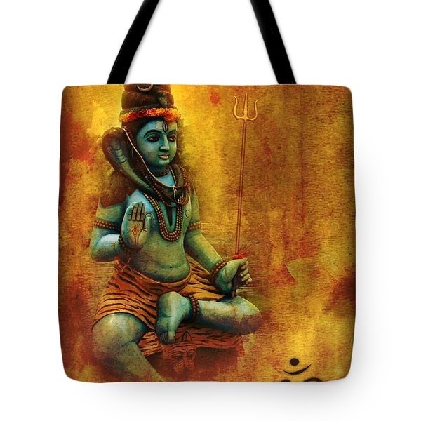 Shiva Hindu God Tote Bag