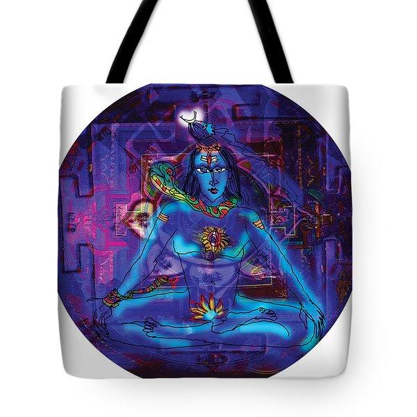 Shiva In Meditation Tote Bag