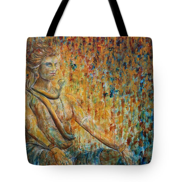 Shiva Meditation 2 Tote Bag