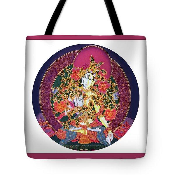 Shiva Shakti Yin And Yang Tote Bag