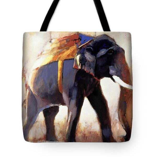 Shivaji  Khana Tote Bag by Mark Adlington