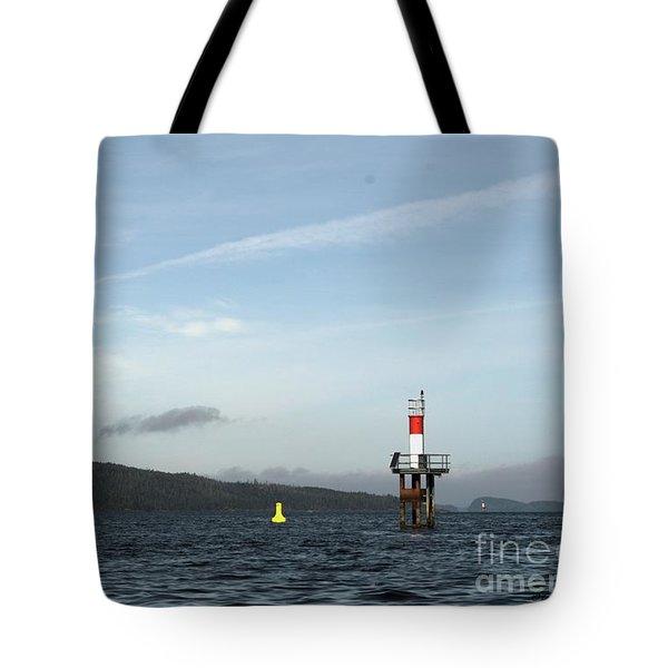 Shoal Marker Tote Bag