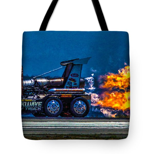 Shock Wave 2836 Tote Bag