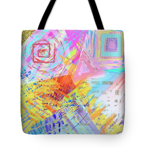 Shockwave Tote Bag