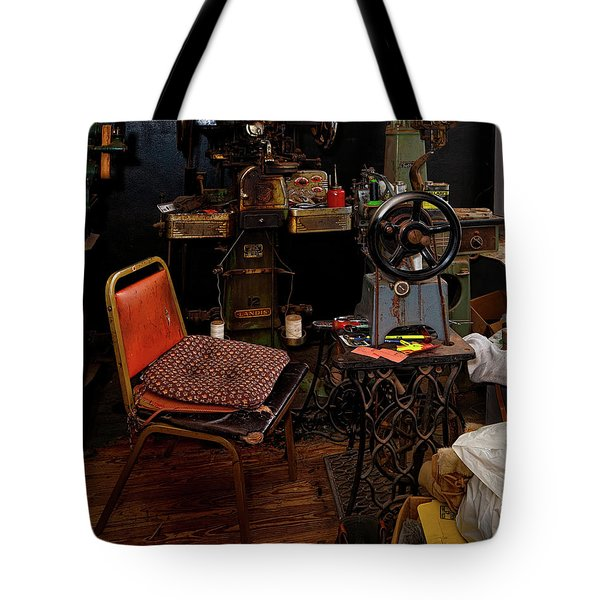 Shoe Hospital Tote Bag by Christopher Holmes
