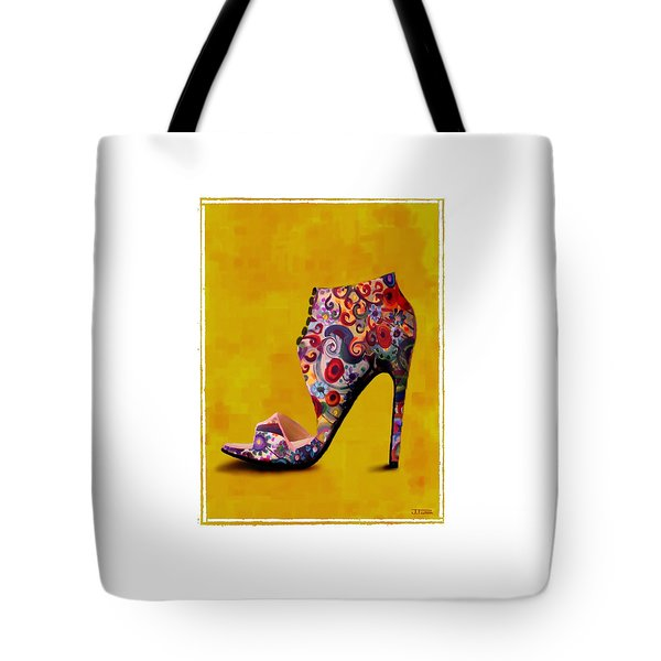 Shoe Illustration 1 Tote Bag by Jann Paxton