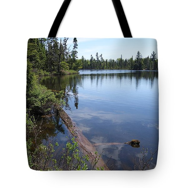 Tote Bag featuring the photograph Shoe Lake #2 by Sandra Updyke