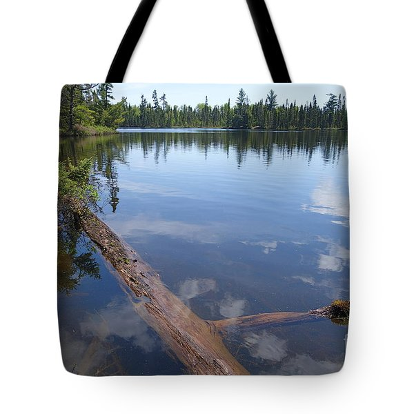 Tote Bag featuring the photograph Shoe Lake by Sandra Updyke