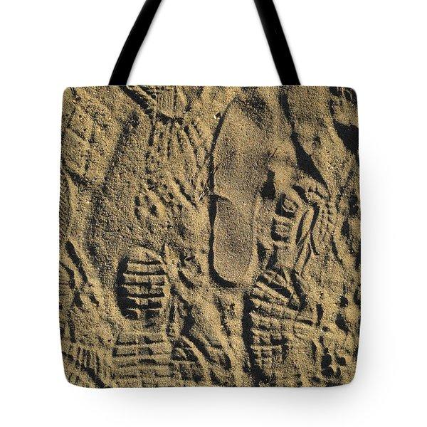 Shoe Prints II Tote Bag
