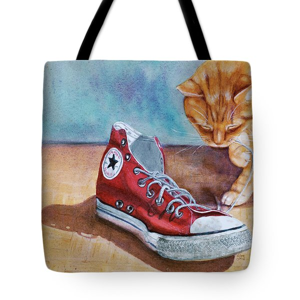 Shoe Snack Tote Bag