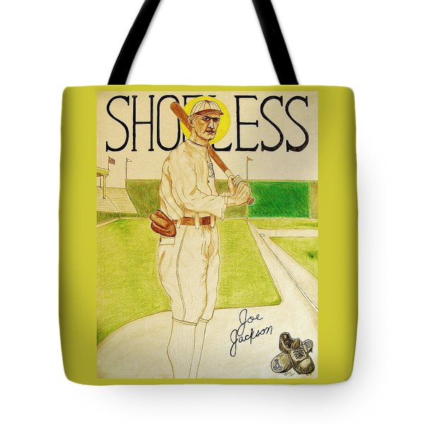Shoeless Joe Jackson Tote Bag