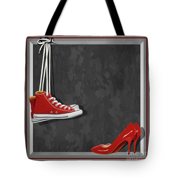 Shoes For Every Occasion Tote Bag by Monika Juengling