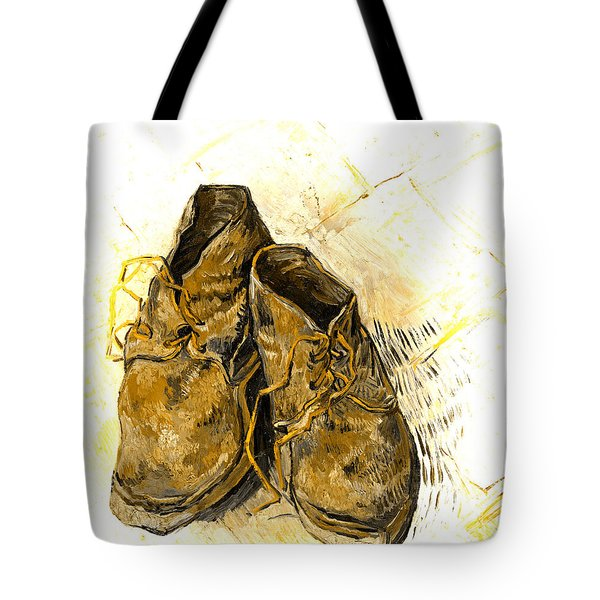 Tote Bag featuring the photograph Shoes by John Stephens