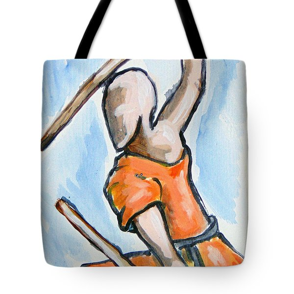 Sholin Monk Tote Bag