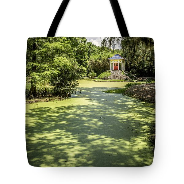 Shonfa Temple Buddha Tote Bag