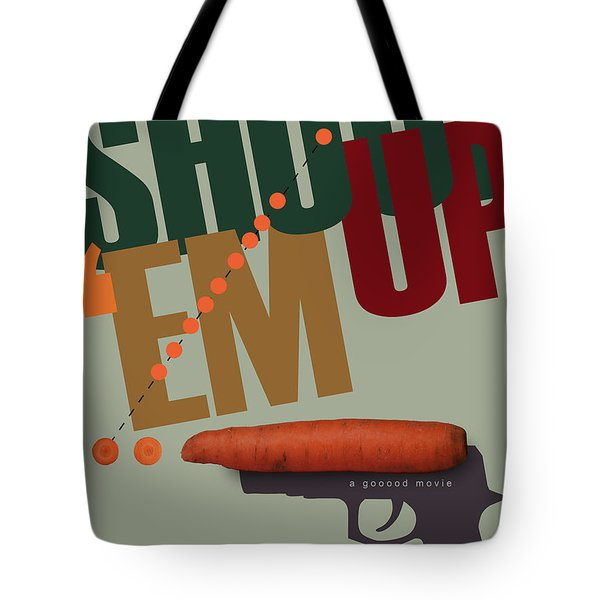 Shoot 'em Up Movie Poster Tote Bag