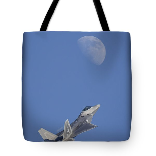 Tote Bag featuring the photograph Shoot The Moon by Adam Romanowicz