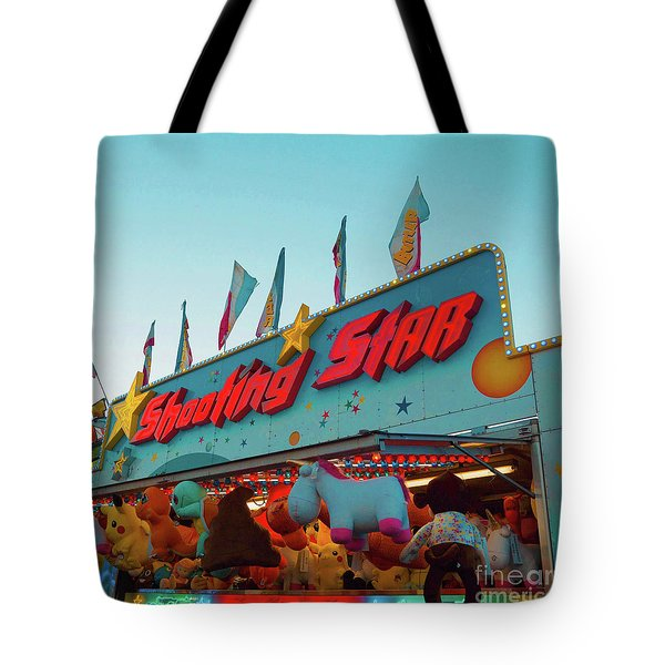 Tote Bag featuring the photograph Shooting Star by Cindy Garber Iverson