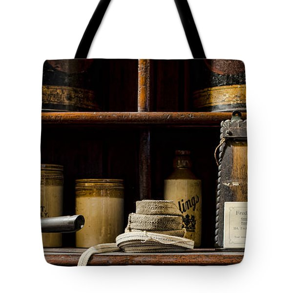 Shop Counter Tote Bag