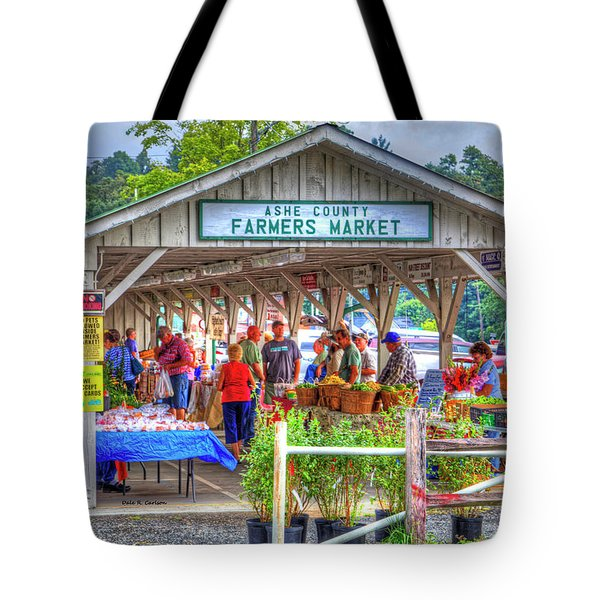Shop Local Tote Bag by Dale R Carlson