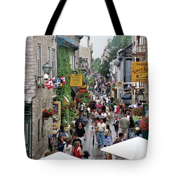 Tote Bag featuring the photograph Shop Till One Drops by John Schneider