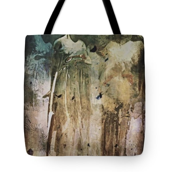 Tote Bag featuring the digital art Shop Window by Alexis Rotella