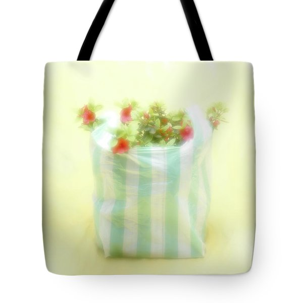 Tote Bag featuring the photograph Shopping Bag by Hans Janssen