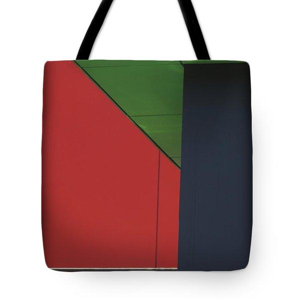 Shopping Strip Geometry Tote Bag