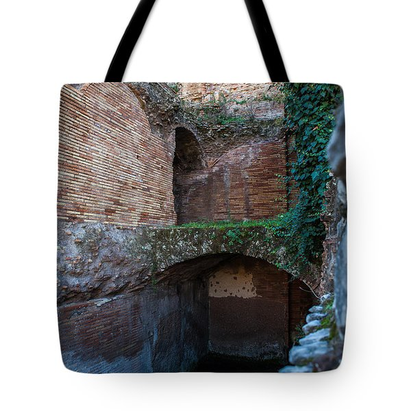 Shops Of Palatine Tote Bag by Ed Cilley
