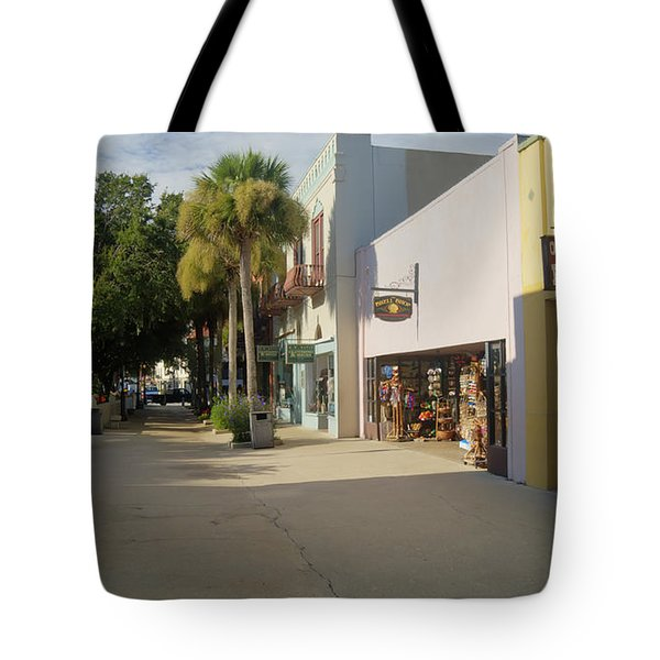 Shops On St George Street  Tote Bag