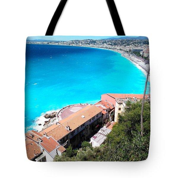 Shore Line Tote Bag