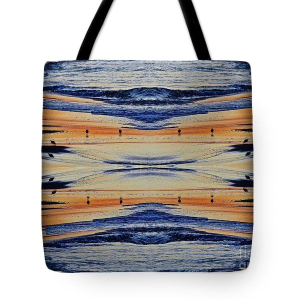 Shore Lines Tote Bag