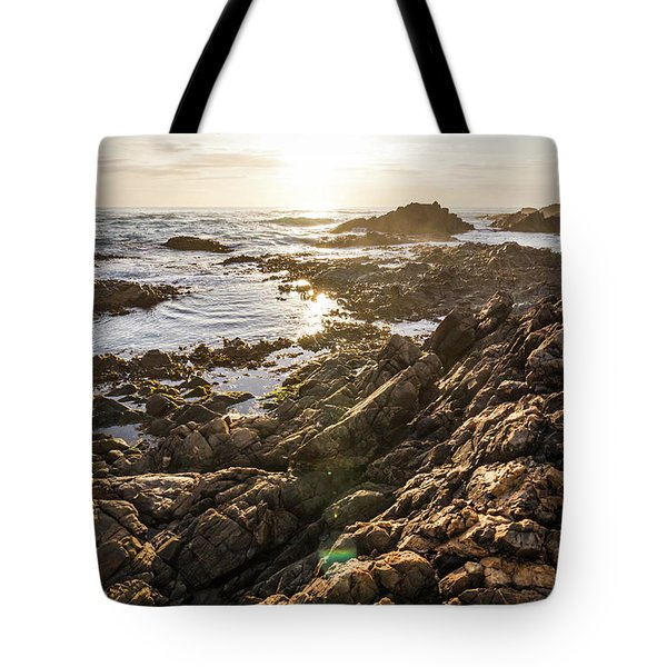 Shore Rays Tote Bag