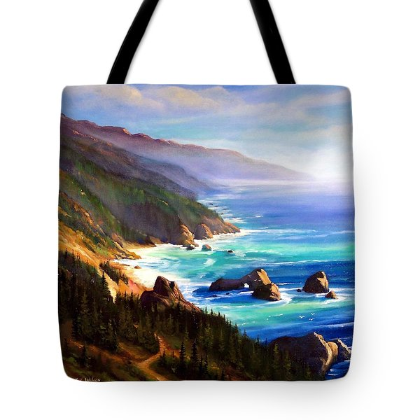 Shore Trail Tote Bag