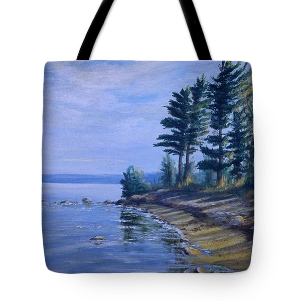 Shoreline Tote Bag