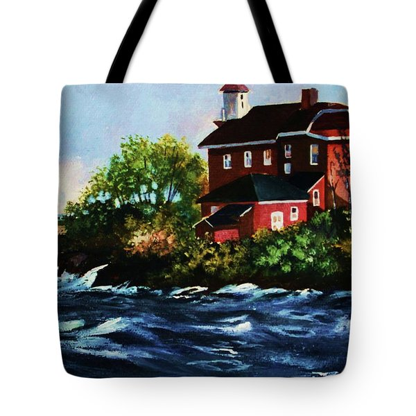 Shoreline Light Tote Bag
