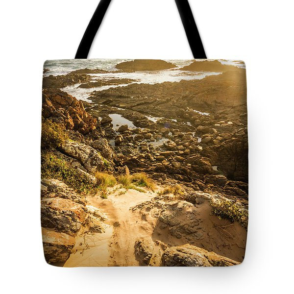 Shoreline Sunshine Tote Bag
