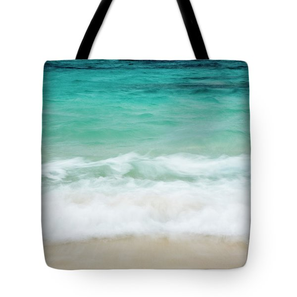 Tote Bag featuring the photograph Shorelines IIi by Charmian Vistaunet