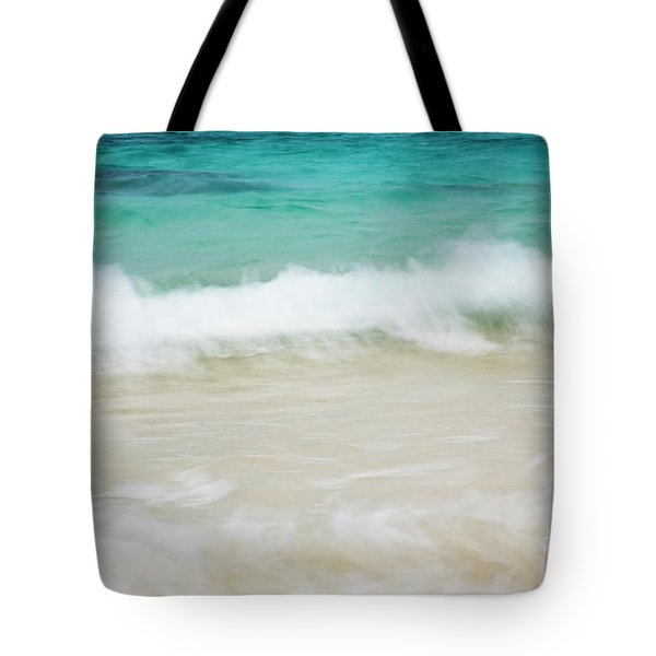 Tote Bag featuring the photograph Shorelines Iv by Charmian Vistaunet